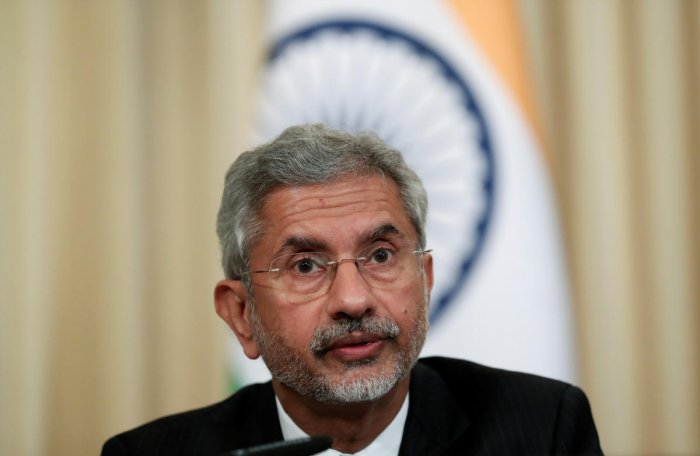 India's Foreign Minister Subrahmanyam Jaishankar. (Reuters Photo)