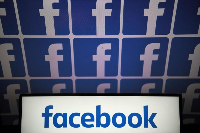 US online social media and social networking service, Facebook. (AFP Photo)