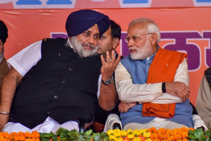 SAD president Sukhbir Singh Badal met working president of the BJP a few days ago to discuss the nuances of the alliance.