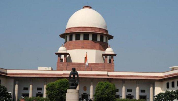 The Supreme Cort in New Delhi (DH File Image)