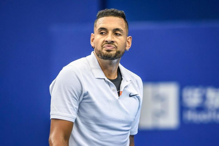 """Kyrgios was also told to seek """"continued support"""" from a mental coach during tournaments and consult a professional specialising in behavioural management in the off-season. AFP"""