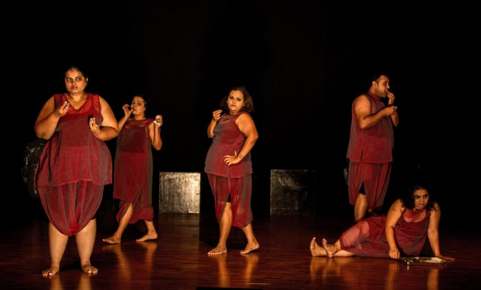 Bengaluru-based theatre troupe 'The Big Fat Company' challenges stereotypes based on appearance.