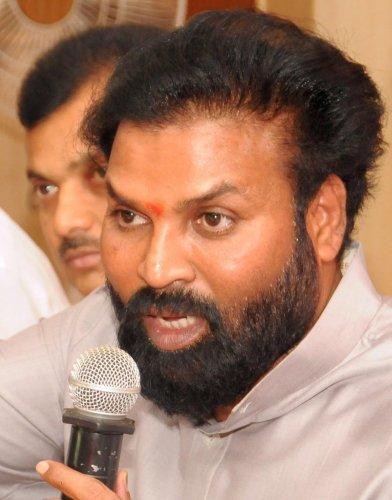 Health Minister B Sreeramulu