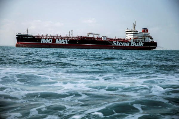 Stena Impero, a British-flagged vessel owned by Stena Bulk. (Photo/Reuters)