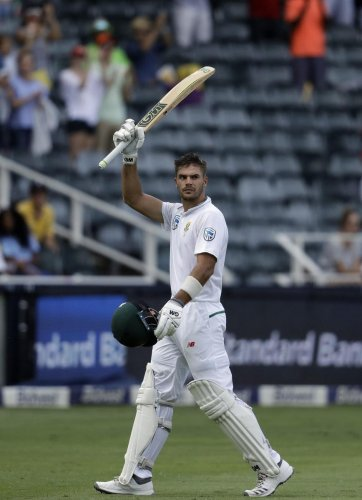 South African opener Aiden Markram hopes to conquer the Indian spinners in the forthcoming Test series. AP-PTi