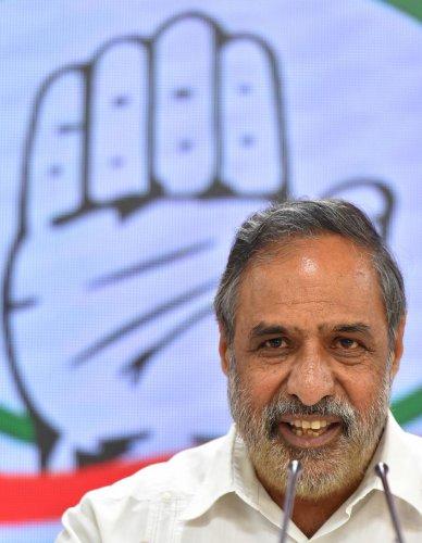 Congress leader Anand Sharma