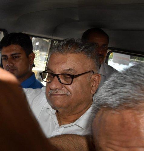 Former media baron Peter Mukerjea. (PTI File Photo)
