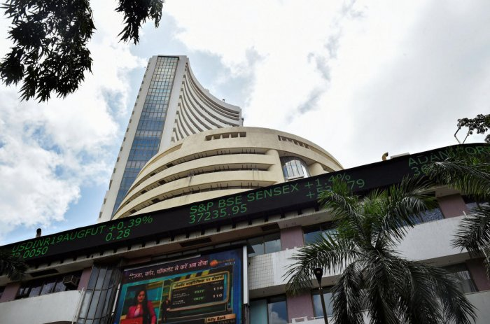 According to traders, market volatility has heightened as concerns over US President Donald Trump's impeachment inquiry has made investors nervous around the globe. Photo/PTI