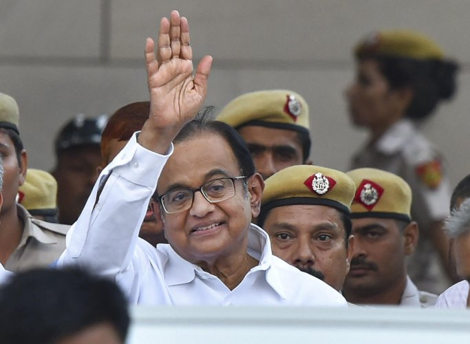 Congress leader and former finance minister P Chidambaram (PTI Photo)