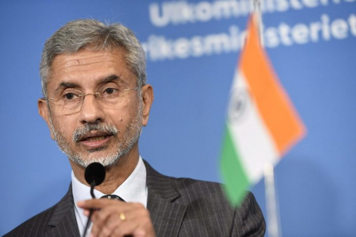 "Jaishankar said ""No"" when asked to comment on the absence of his Pakistani counterpart during his opening statement at the SAARC meet."