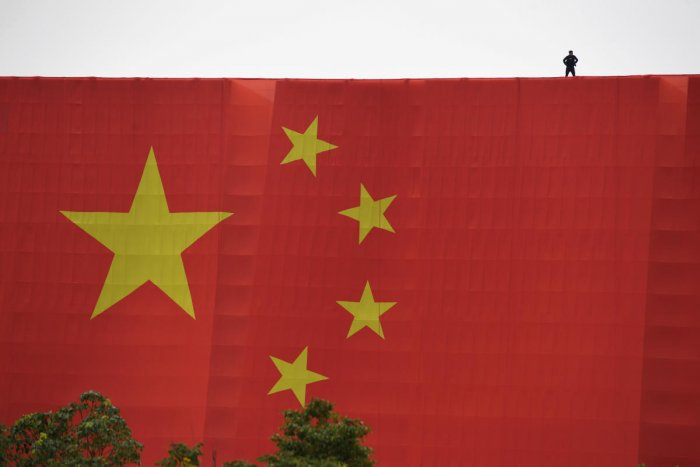 China has been cracking down on financial risk and its firms are dogged by accusations of account manipulation. Photo/Reuters