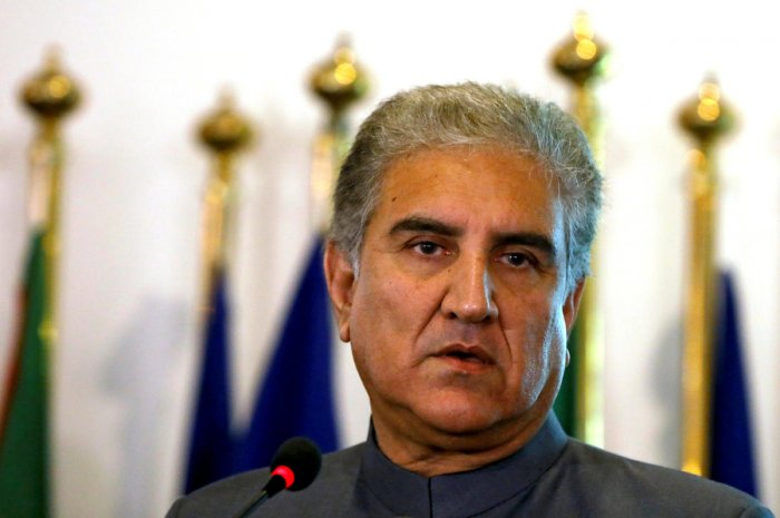 Pak FM Shah Mahmood Qureshi. Reuters photo