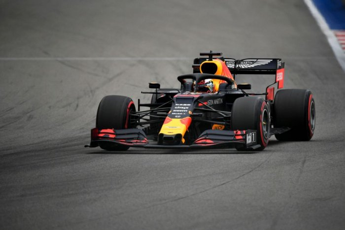 Red Bull's Max Verstappen set the pace in Friday practice for the Russian Grand Prix. Picture credit: AFP