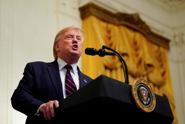 US President Donald Trump. (Photo/Reuters)