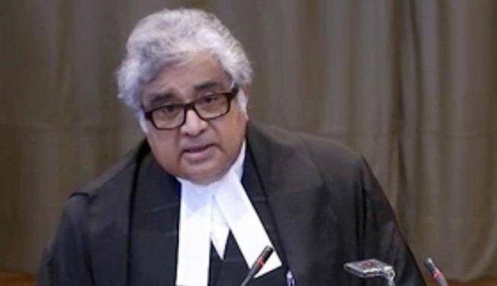 Harish Salve, Lawyer of Kulbhushan Jadhav's case. (File Photo)