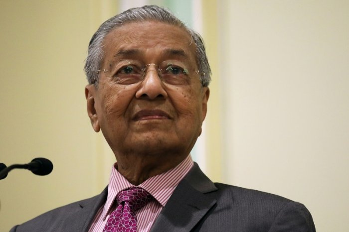 Malaysia's Prime Minister Mahathir Mohamad. (Reuters Photo)