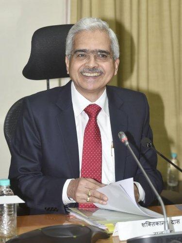 Reserve Bank of India (RBI) Governor Shaktikanta Das. PTI Photo