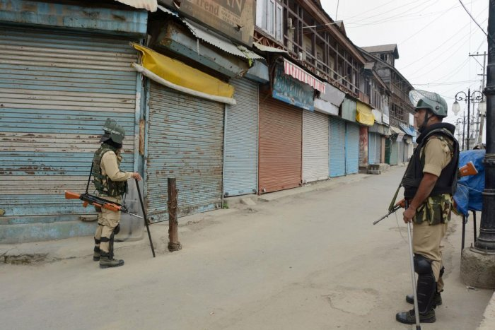 Anti-insurgency operations were intensified as part of a proactive strategy to foil any plans of militants to stage any attacks on security forces in the valley, the official said. PTI file photo