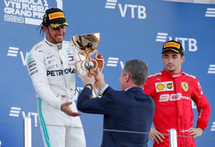 Mercedes took full advantage of Ferrari's reliability and tactical problems by delivering a solid Silver Arrows one-two. Reuters Photo