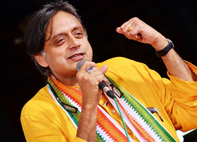 Tharoor asserts that the Hindutva politics must be resisted for presenting a view of Hinduism that is at odds with everything the eclectic religion has sought to stand for. Photo/Twitter