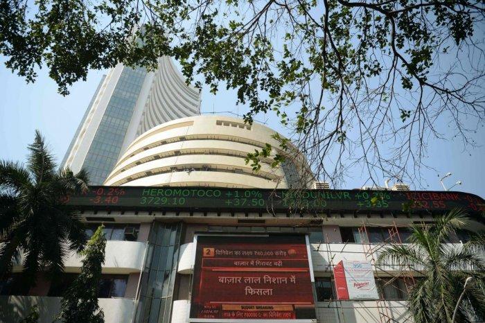 Bombay Stock Exchange. AFP Photo