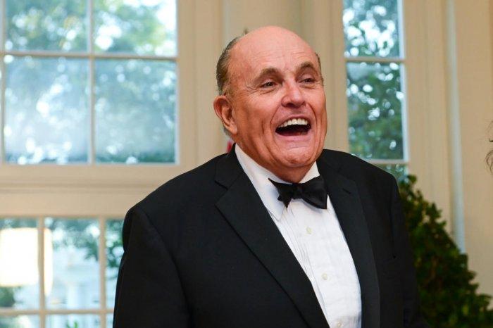 U.S. President Trump's personal lawyer Rudy Giuliani. Reuters
