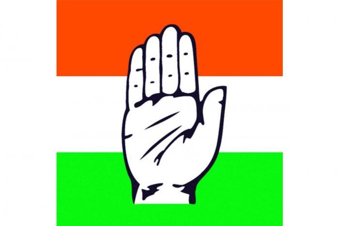 Indian National Congress logo (DH File Image)