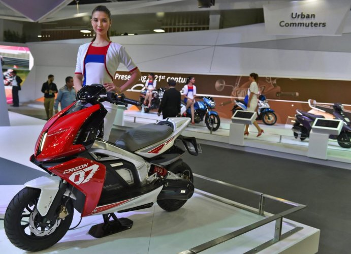 Domestic two-wheeler sales stood at 2,43,163 units last month as compared to 3,61,097 units in September 2018. PTI File Photo