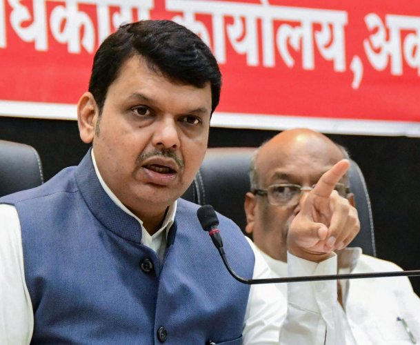 Maharashtra Chief Minister Devendra Fadnavis (PTI Photo)