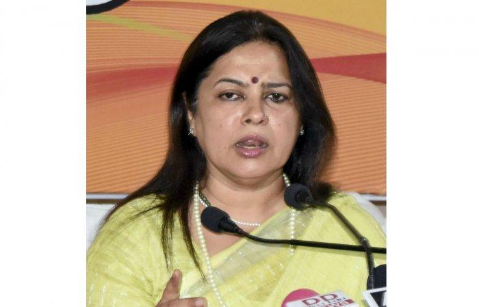 BJP spokesperson Meenakshi Lekhi (PTI Photo)