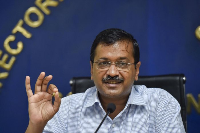 """Kejriwal announced that students will soon get """"dengue kits"""" in schools which will include pamphlets about the campaign explaining how dengue mosquito breeds and how it can be avoided.  Photo/PTI"""