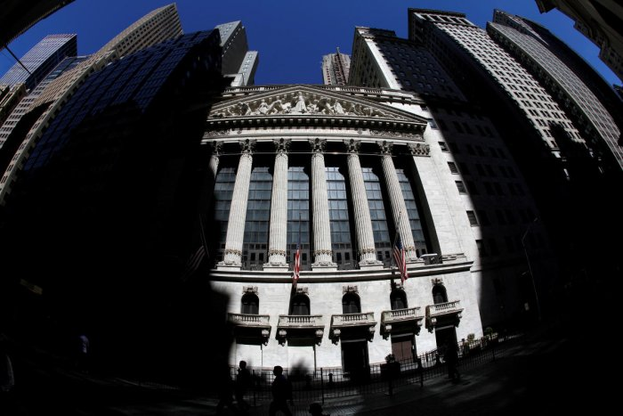 The New York Stock Exchange (NYSE) building is seen in New York City, New York. Reuters