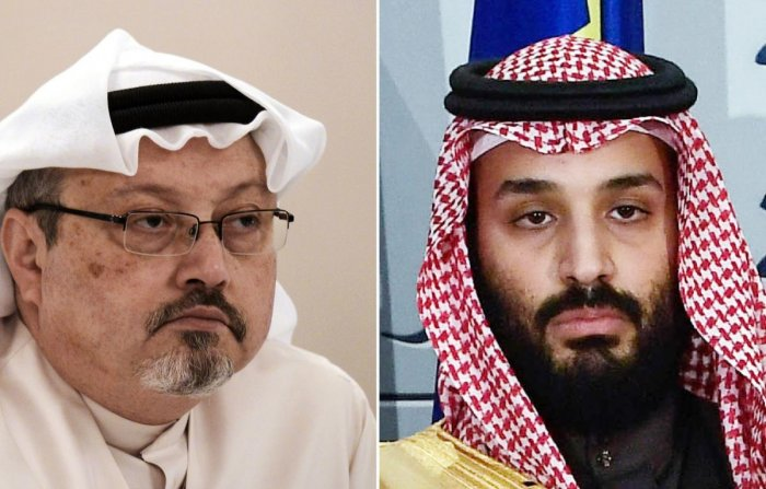 """US television PBS recently quoted Saudi's crown prince Mohammed bin Salman as insisting, in comments to a reporter two months after the murder, that it was executed without his knowledge but, """"I get all the responsibility because it happened under my watch."""""""