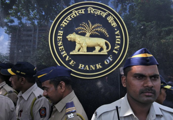 The RBI statement came on a day when the Nifty Bank index tanked by 1.30 per cent in intra-day trade. Reuters Photo