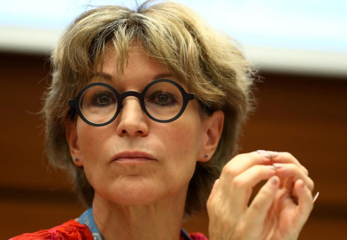 Agnes Callamard, UN special rapporteur on extrajudicial executions who issued report on the murder of Saudi journalist Jamal Khashoggi. (Reuters File Photo)
