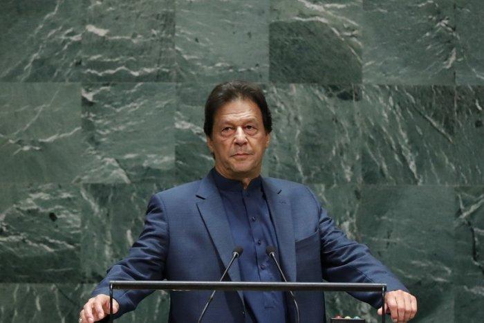 Pakistan Prime Minister Imran Khan. (Reuters Photo)