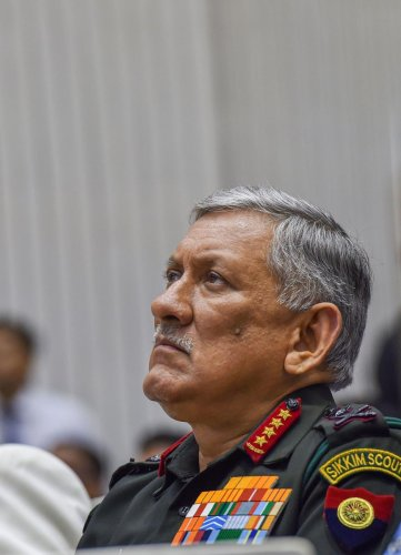 Chief of Army Staff General Bipin Rawat (PTI Photo)