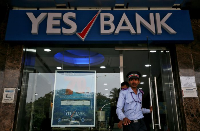 The YES Bank stocks continued to tank, despitestatements issued by bank's CEO Ravneet Gill. Photo/Reuters
