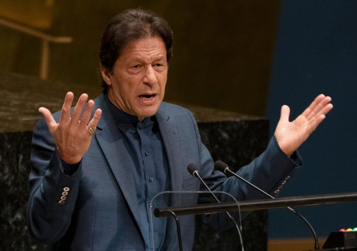 Pakistan Prime Minister Imran Khan. (AFP Photo)