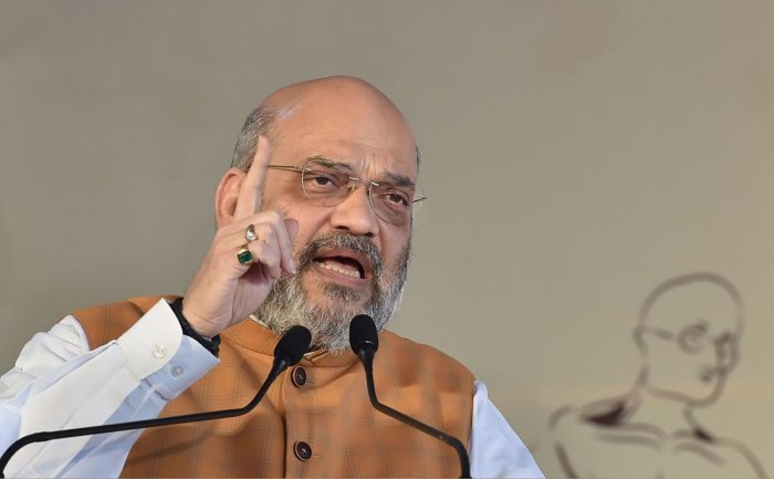 Amit Shah (PTI Photo)