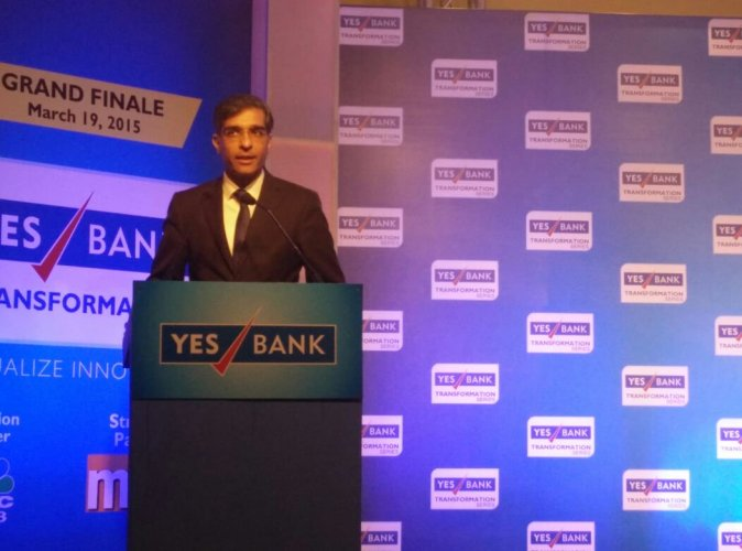 Rajat Monga, the senior group president and former chief financial officer at Yes Bank has quit. (Twitter Image/ Yes Bank)