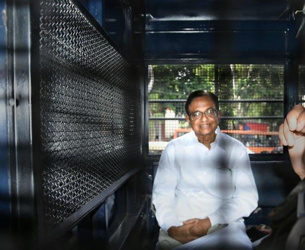 Former finance minister P Chidambaram. (PTI photo)