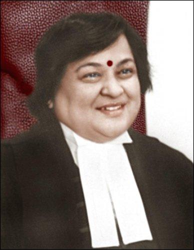 Chief Justice of Jammu and Kashmir High Court Justice Gita Mittal
