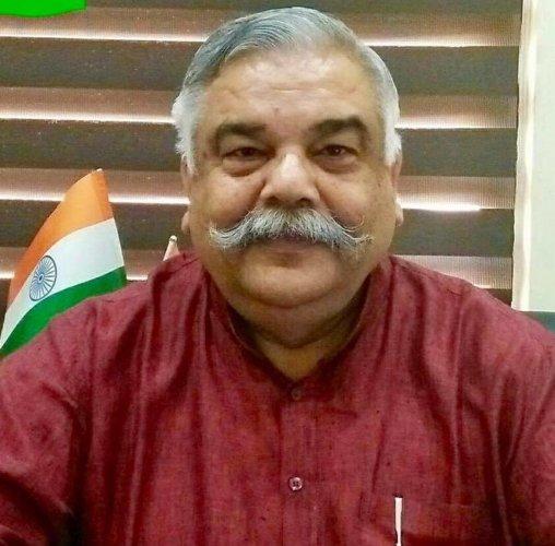 Anil Gupta, BJP Spokesperson of Jammu and Kashmir (DH File Photo)