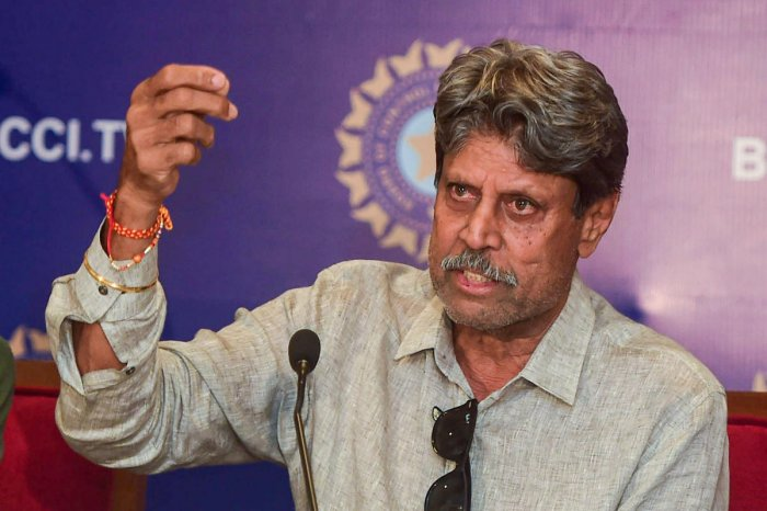 Former India captain and Chairman of Cricket Advisory Committee Kapil Dev. (PTI Photo)