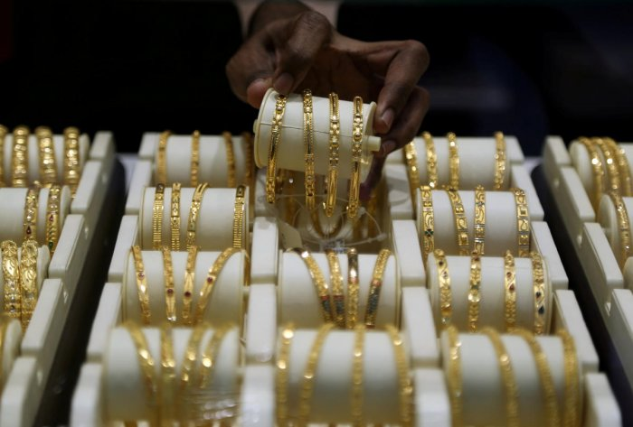 In the global market, gold was ruling higher at USD 1,501 per ounce in New York, while silver was trading at USD 17.61 an ounce. (Reuters File Photo)