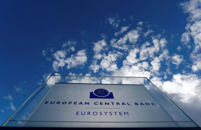 The results will make disappointing reading for policymakers at the European Central Bank who pledged last month to provide indefinite stimulus to revive the 19-country currency bloc's ailing economy. (Reuters File Photo)