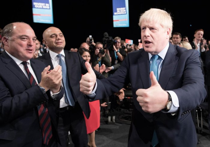 Johnson is racing against time and facing headwinds across European capitals as he tries to rally support for a new approach to settling the three-and-a-half-year crisis. (AFP File Photo)