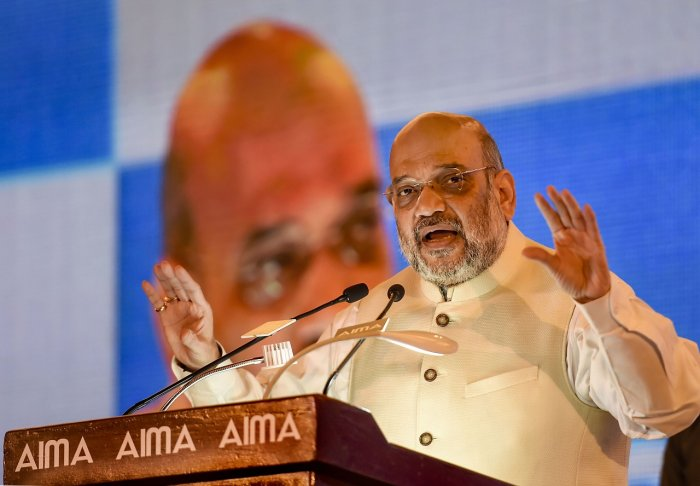 Amit Shah gave a clarion call to shun single-use plastic and urged citizens to take an initiative to make this a mass movement. (PTI photo)