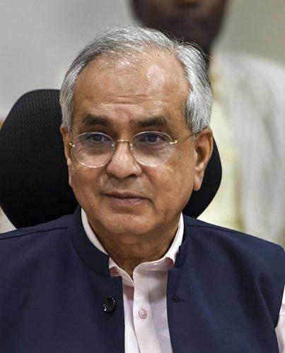 NITI Aayog Vice Chairman Rajiv Kumar (PTI Photo)